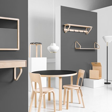 Artek revives Alvar Aalto products for latest furniture collection