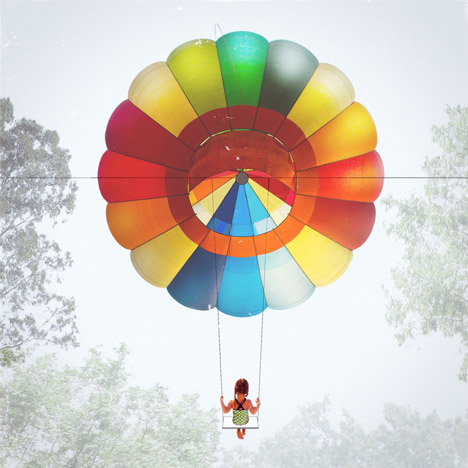 Balloon Swing by Jesse Lockhart-Krause