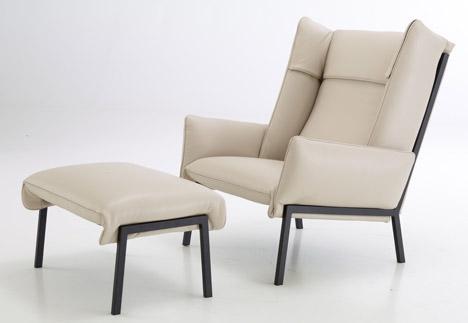 Inga Sempé's Beau Fixe seating is clamped into shape