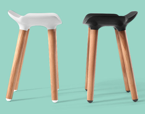 Pilot Stools by Quinze & Milan