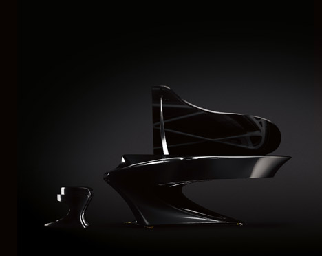Boganyi Piano Is A Curvaceous Take On The Traditional Grand