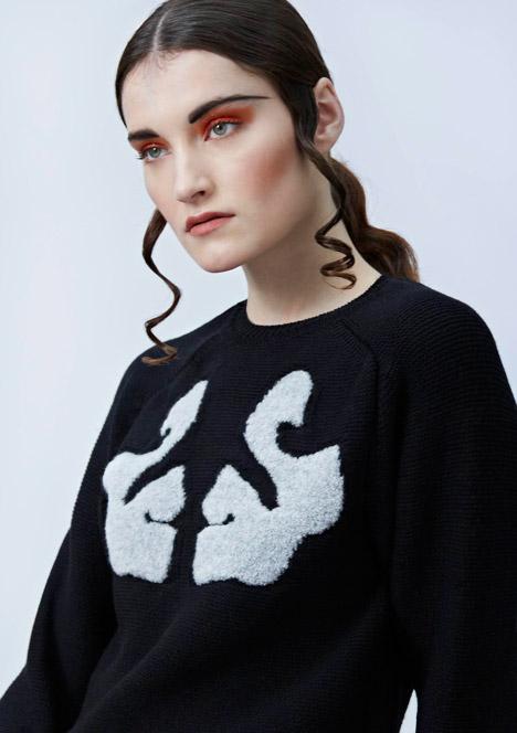 Brooke Roberts turns brain scans into knitwear patterns