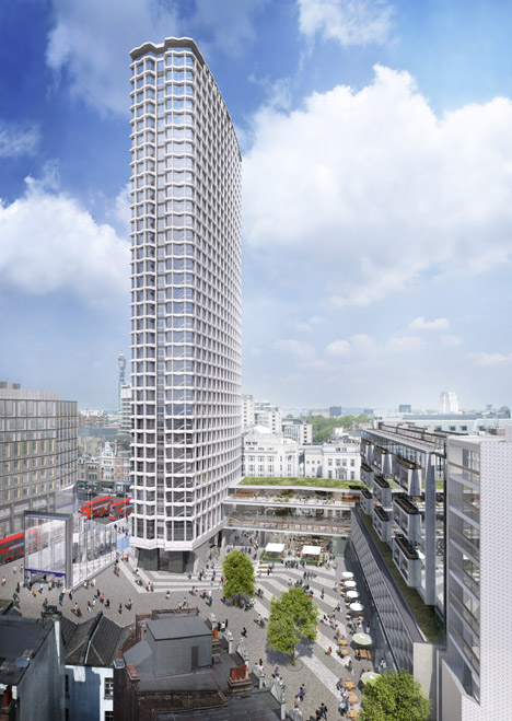 Centre Point redevelopment by Rick Mather Architects and Conran & Partners