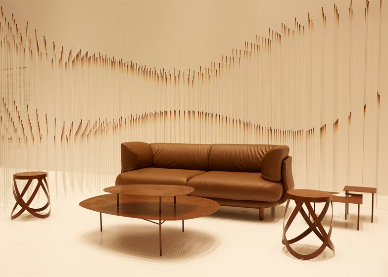 Chocolatetexture installation by Nendo at Maison&Objet 2015