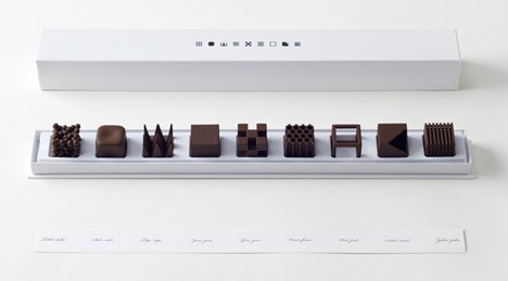Chocolatexture by Nendo Maison Objet 2015