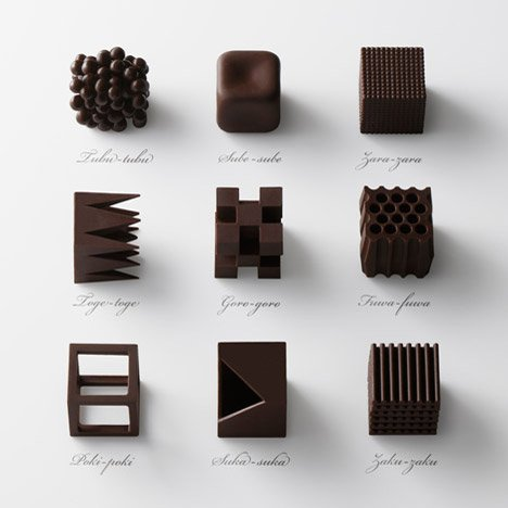Chocolatexture by Nendo Maison Objet 2015