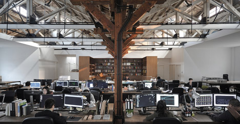 Co-working Space by NaturalBuild