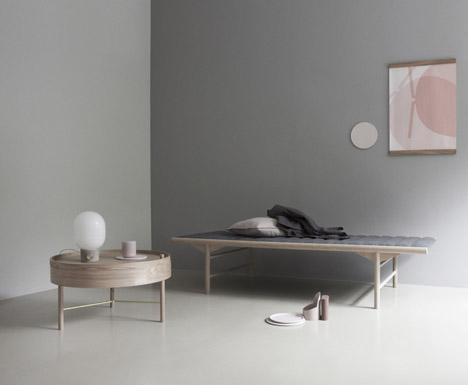 Concrete Lamp for Menu by JWDA