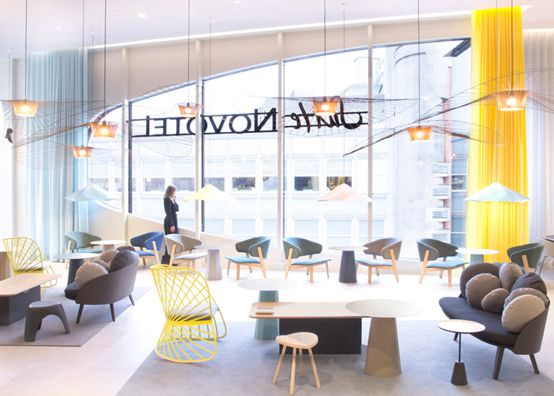 Constance Guisset's project for Suite Novotel in The Hague