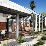 Andrew Maynard adds greenhouse-like extension to a Melbourne home – but leaves it unfinished
