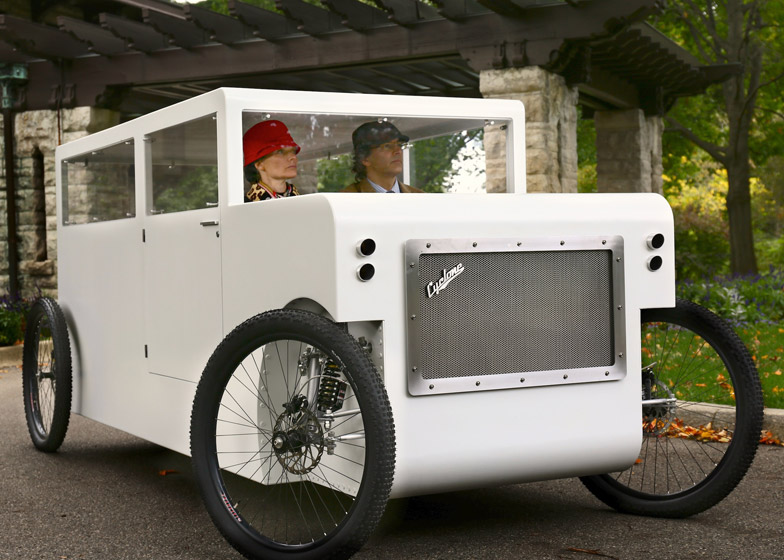 Cyclone vehicle by The Future People