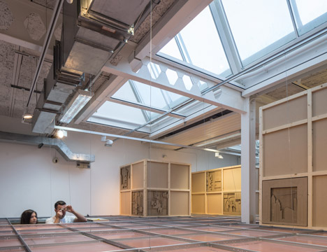 Despite Efficiency at the Herbert Read Gallery by Aberrant Architecture