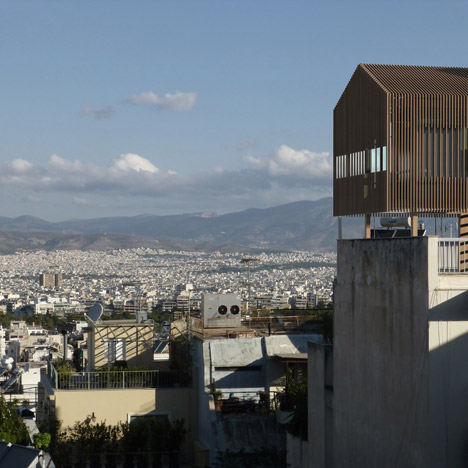Detached Urban Hut in Athens by Dragonas Christopoulou Architects