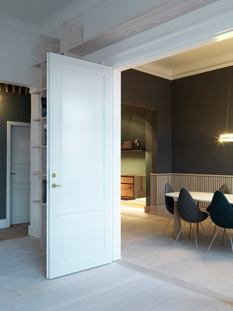 Dinesen showroom by Oeo