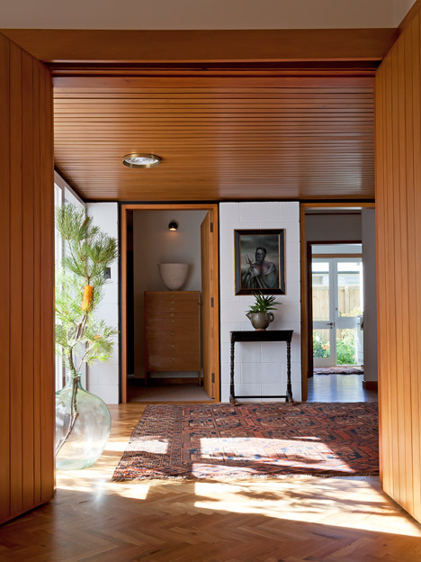 Ballantyne house, Christchurch by Warren & Mahoney, 1958