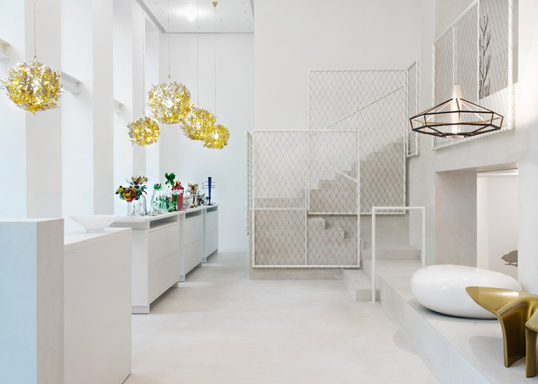 Driade Milan showroom by David Chipperfield
