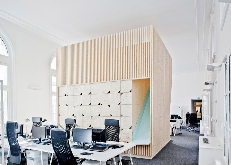 Ekimetrics office renovation by Estelle Vincent