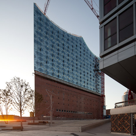 Completion in sight for Herzog & de Meuron's £617-million Elbphilharmonie concert hall