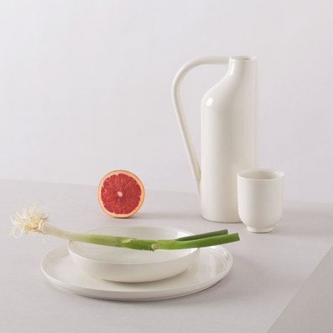 Fabrica blends international tableware styles in collection for Atipico