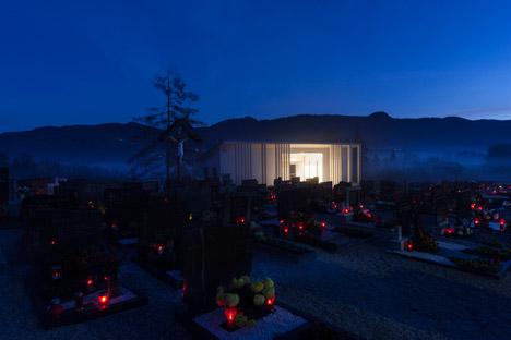 Farewell Chapel Zgornji Tuhinj by Tria Studio