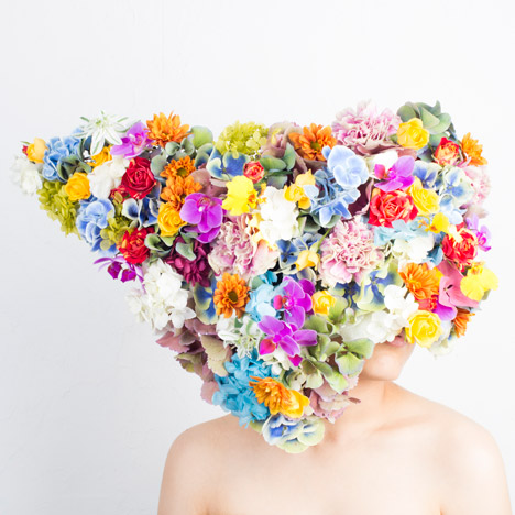 Flower art works by Hnayuishi Takaya