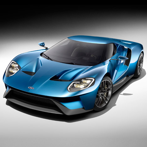 Ford GT concept supercar