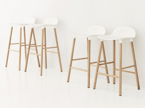 Form collection by Normann Copenhagen