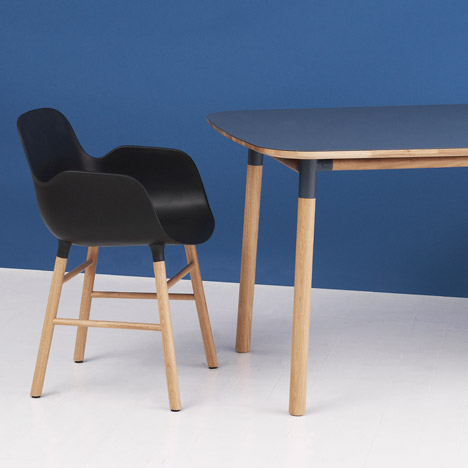 Normann Copenhagen launches Form furniture by Simon Legald