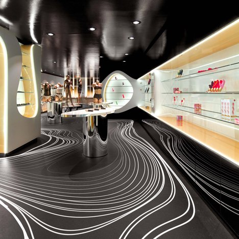 "Karim Rashid's sex shop interior ""satisfies primal desire"""