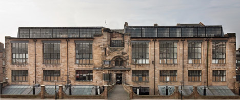 Glasgow School of Art Mackintosh building