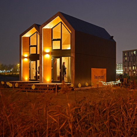 Heijmans proposes pop-up homes to solve the problem of high rents