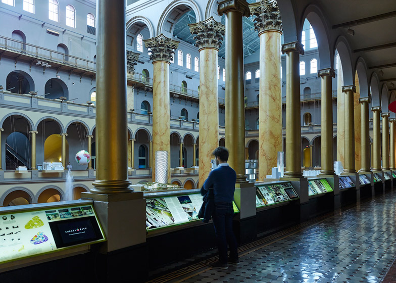 Hot to Cold exhibition by BIG at the National Building Museum in Washington DC