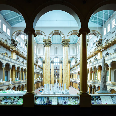 BIG's Hot to Cold exhibition opens at the National Building Museum