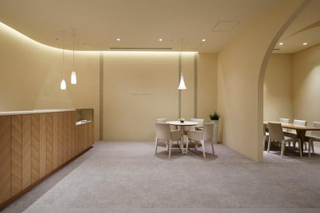 Hotel Nikko Kumamoto Bridal Salon by Ryo Matsui Architects