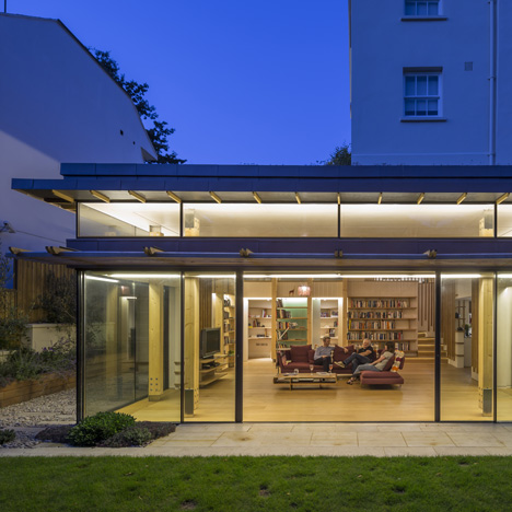 Cullinan Studio transforms Hampstead house with glazed garden room