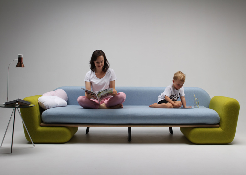 Inclusion Couch by Marvin Reber