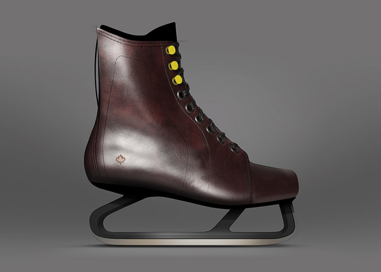 Ice skates reimagined by Jacknife