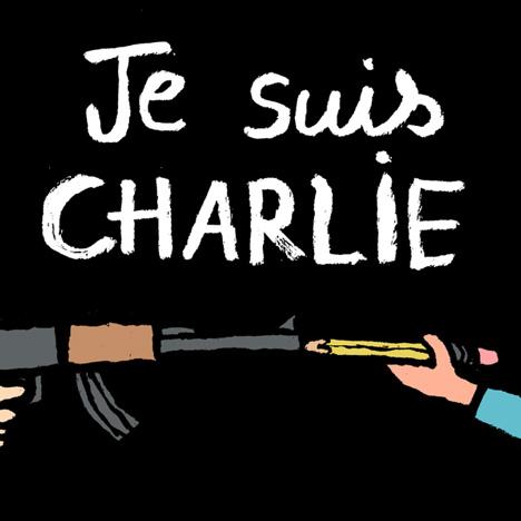 Jean Jullien Je Suis Charlie illustration