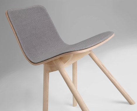Kali chair by Jasper Morrison for Offecct