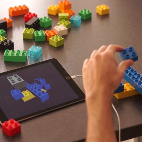 Lego X turns toy building blocks into a digital modelling kit for designers