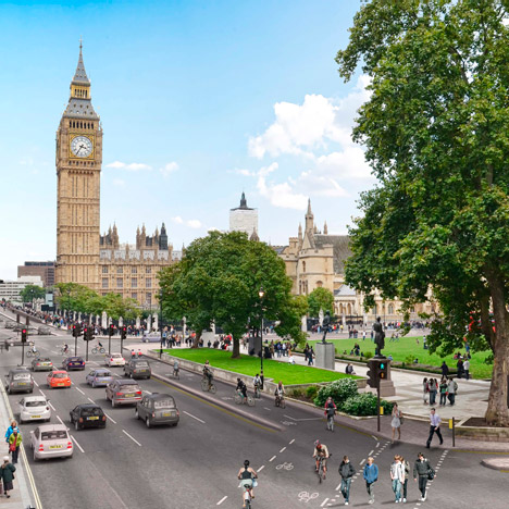 London mayor backs new cycle superhighway
