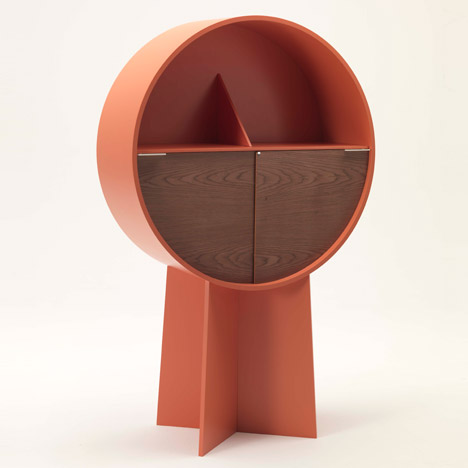 Luna Cabinet by Patricia Urquiola at Maison&ampObjet 2015