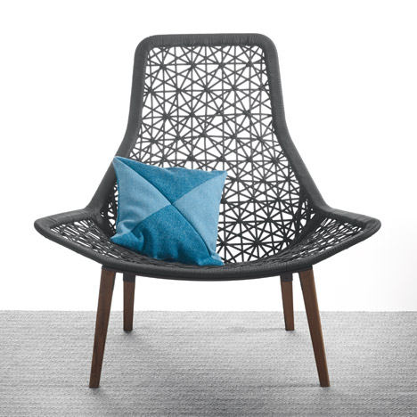 Maia Rope chair by Patricia Urquiola for Kettal