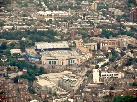 Stamford Bridge Chelsea football stadium