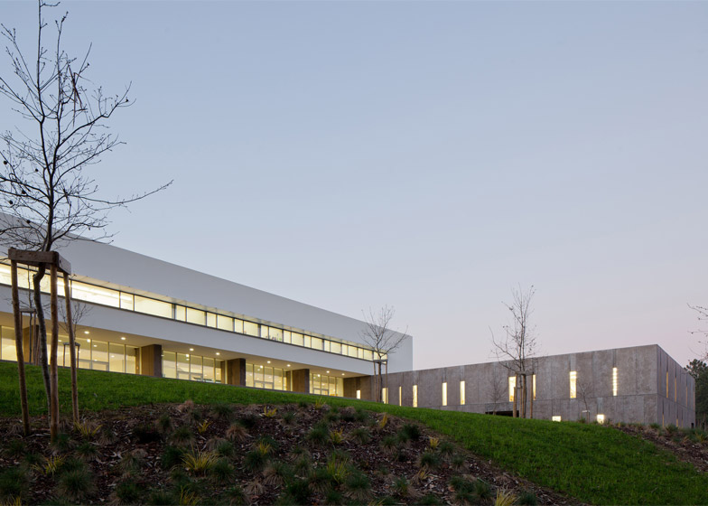 Melgaço Sports School, Portugal by Perdo Reis Arquitecto