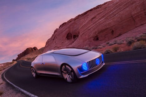 F015 Luxury car by Mercedes-Benz