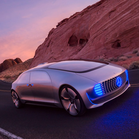 Mercedes-Benz's latest concept car&ltbr /&gt is a driverless &quotliving space&quot