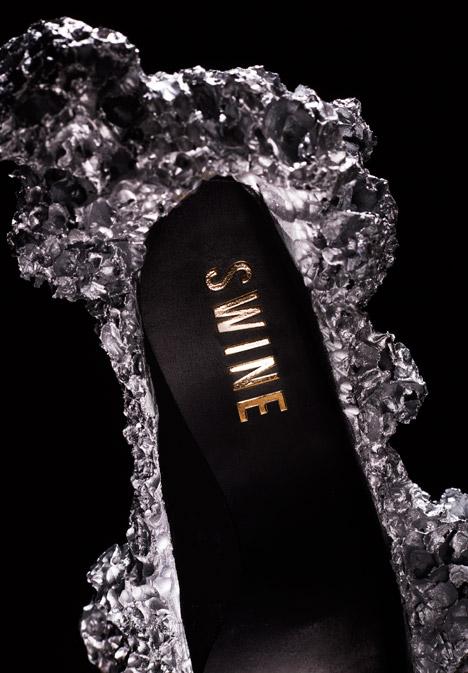 Meterorite Shoes by Studio Swine