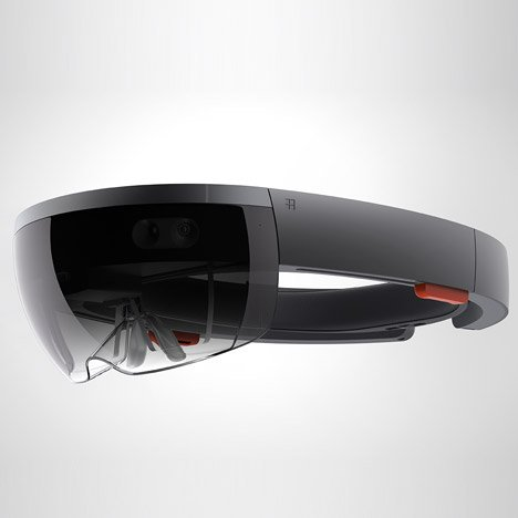 Microsoft's HoloLens headset combines high-definition holograms with the real world