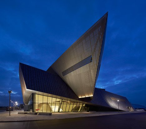 Mons International Congress Centre by Daniel Libeskind
